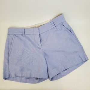 J. Crew Oxford Chino Chambray baby blue shorts